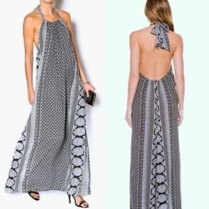 Elan Halter Maxi Dress NWT l9